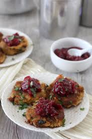 turkey fritters jalapeno cranberry sauce the whole smiths