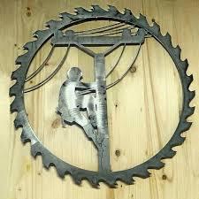 wooden lineman ornament by crackerchild on etsy lineman