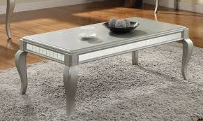 3pc coffee end tables set 83080 in champagne by acme