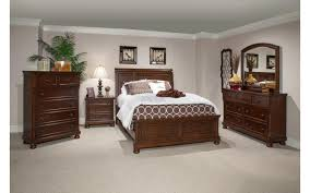 Bed Set With Drawers by Prescott Queen Cherry Bedroom Set My Furniture Place