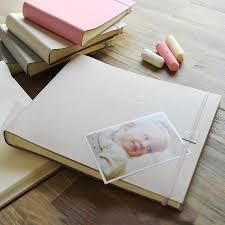Large Leather Photo Albums Personalised Leather Baby Photo Album Extra Large By