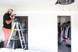 How To Build Sliding Barn Door by How To Install Sliding Barn Doors Bless U0027er House
