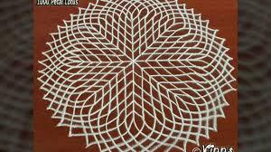 pooja room kolam sahasradala padma the 1000 petals lotus youtube