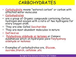 carbohdrates