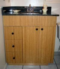 Bamboo Bath Vanity Cabinet Bathroom Vanities