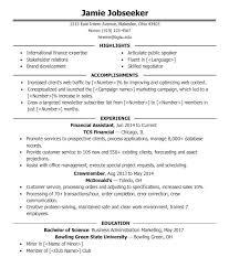 undergraduate sample resume cover letter for undergraduate