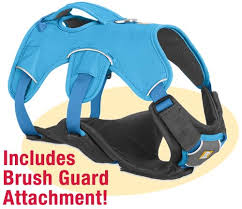 tripawds gear ruffwear web master plus brush guard harness