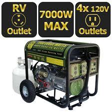sportsman 7 000 watt clean burning lpg propane gas powered