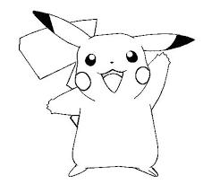 excellent pikachu coloring pages kids design 3704 unknown