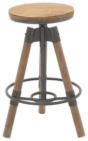 Metal And Wood Bar Stool Metal Wood Bar Stool 18