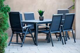 mayaro dining sets aluminum medium ideal for 6 seats tribeca 7