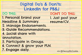 Resume Dos And Donts Do U0027s U0026 Don U0027ts When Using Linkedin For Personal Branding U0026 Job Search