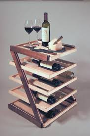 Walnut Wine Cabinet Wine Rack U2013 Serving Table Davinci Remodeling