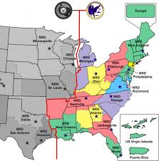 map us navy dvids images navy recruiting district map