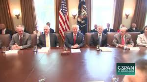 How Many Cabinet Positions Are There President Touts Accomplishments Cabinet Meeting Jun 12 2017