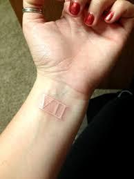 100 white ink tattoo wrist 13 white ink breathe tattoos 16