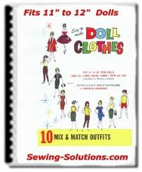 free barbie sewing patterns 10 fashion