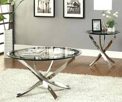Ashley Furniture Glass Coffee Table Round Coffee Table Set U2013 Thelt Co