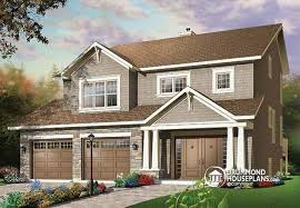 two car garage house plan w3443 detail from drummondhouseplans com