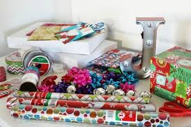 gift basket wrapping paper make your own gift wrapping station family dollar