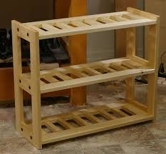 Wood Storage Rack Woodworking Plans by 55 Best Shoe Rack Plans Images On Pinterest Shoe Racks Diy Shoe
