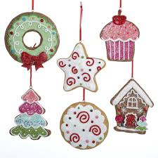 candy ornaments candy peppermint gingerbread sweet christmas ornaments