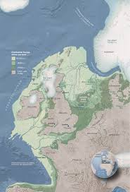 Map Of European Rivers by Doggerland The Europe That Was National Geographic Society
