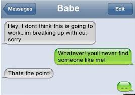 quotes about jokes that hurt text break up text message fail