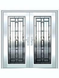Exterior Door Inserts Stained Glass Front Door Inserts S S Leaded Glass Entry Door