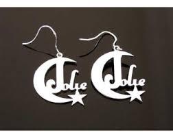 Custom Name Earrings Custom Name Earrings Personalized Name Earrings Hoop
