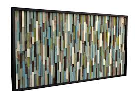 wood wall reclaimed wood sculpture modern artwork 3d