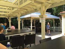 Botanical Gardens Brisbane Cafe Outdoor Covered Seating Area Picture Of The Gardens Club