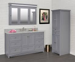 bathroom vanity with linen tower strasser woodenworks accent style vanities furniture style