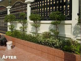 tile design give your thai front garden a facelift thai garden