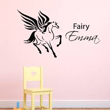 online get cheap custom bedroom cabinets aliexpress com alibaba flying fairy unique animal wall decals home nursery bedroom magic decorativve vinyl art wall stickers mural