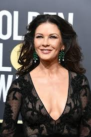 catherine zeta jones catherine zeta jones celebrity hair and makeup at the 2018 golden
