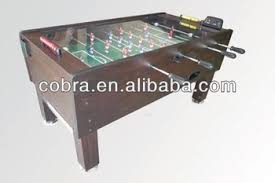 electronic table football game telescopic football table 5ft soccer table glass top foosball table