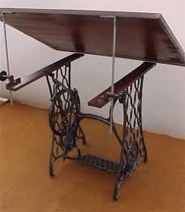 Drafting Table Base Singer Table Base Cast Iron Base Vintage Drafting Table