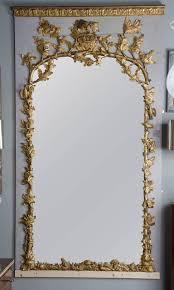 large 18th century french trumeau 18th century mirror mirror