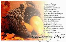 thanksgiving prayer of thanks to god ozzies christian ministry