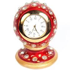 marble handicrafts marble clock handmade indian traditional handicraft