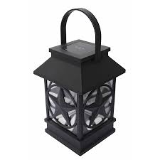 Solar Exterior Light Fixtures by Shop Portfolio Texas Star Led Light At Lowes Com