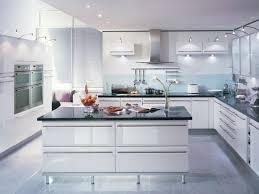 Contemporary White Kitchen Cabinets Kitchen Modern Kitchen Decor With Cost To Refinish Kitchen