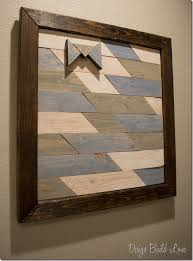 wood frame wall decor how to make wall for your home using reclaimed wood
