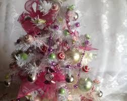 Pre Lit Mini Christmas Tree - mini pink christmas tree christmas trees more pink christmas