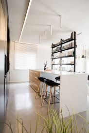 Small Penthouses Design Delineating Space Effortlessly Urbane Penthouse Apartment In Israel