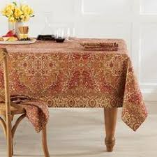 Williams Sonoma Table Linens - wine country harvest jacquard tablecloth williams sonoma