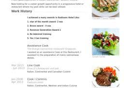 Breakfast Cook Resume Pleasing Line Cook Resume Template On Cooks Resume Chef Resume