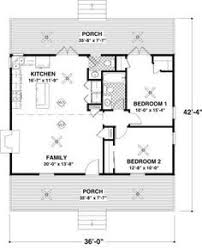 cottage 2 beds 1 5 baths 954 sq ft plan 56 547 main floor plan