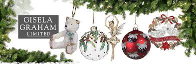 gisela graham baubles and festive decorations